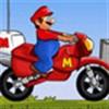 Mario lái xe băng đồi