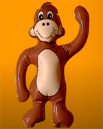 Chú khỉ Spank
