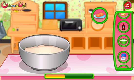 Bánh xốp kem dâu tây