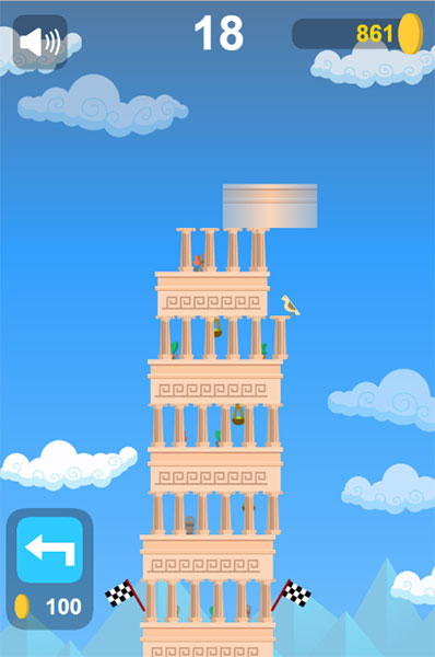xâp tháp cổ