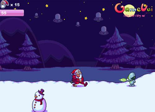 Santa vs Alien