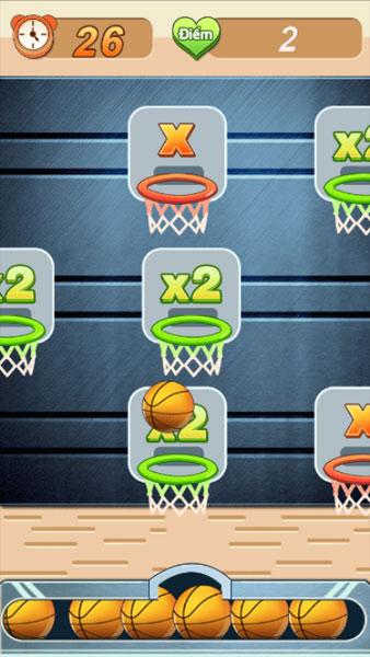 Màn hình chơi game Bóng rổ 4