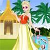 Elsa du lịch Thái Lan