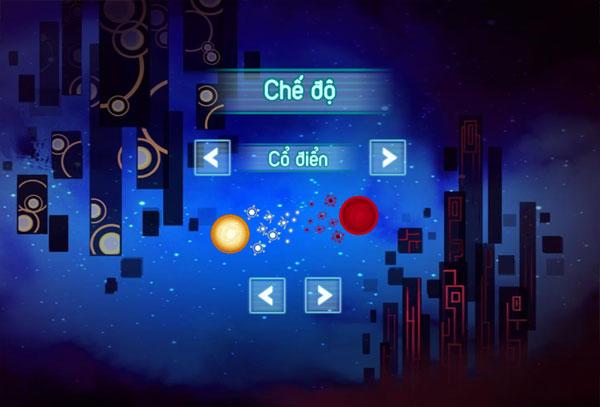 Chọn chế độ chơi Chinh phạt thiên hà