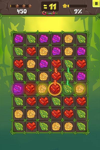 Màn hình chơi game Đá quý cổ đại