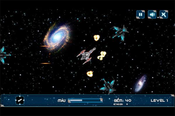 Màn hình chơi game Thợ săn thiên hà