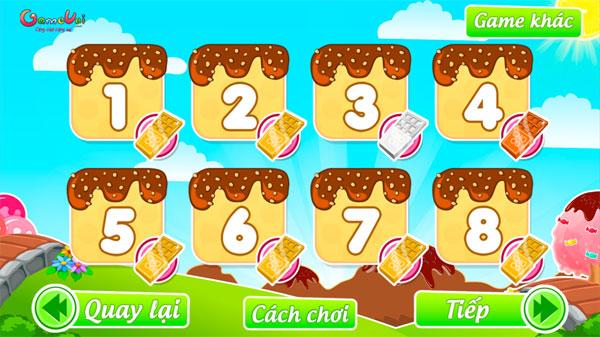Chọn bài chơi Tiệm bánh Tina
