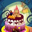 Trang trí bánh Halloween