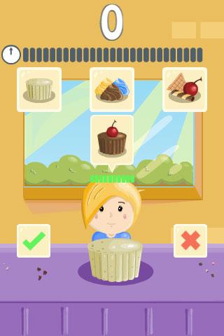 Màn hình game Tiệm bánh Cupcake