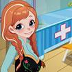 Anna dọn dẹp bệnh viện