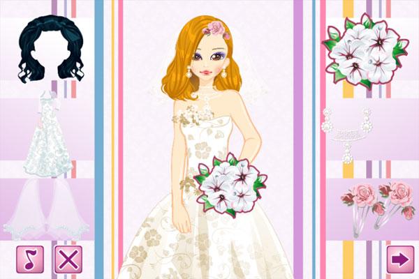 Chọn váy cưới và phụ kiện cho Sarra