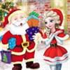 Elsa làm quà giáng sinh