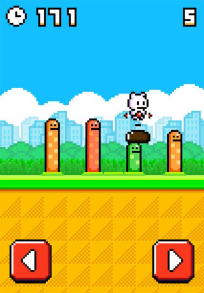 Màn hình chơi game Mèo con diệt sâu