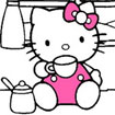 Tô màu Hello Kitty