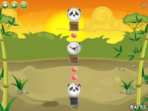 Màn hình chơi game Tình yêu hoang dã
