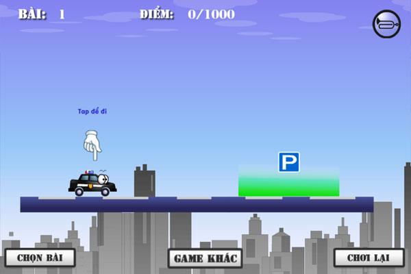Màn hình chơi game Điều khiển phương tiện online