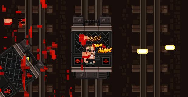Màn hình chơi game Cuộc chiến thang máy