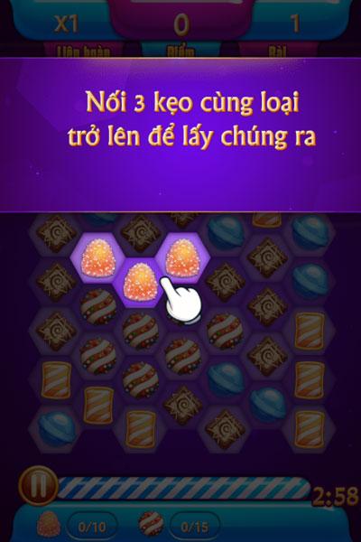 Cách chơi Thiên hà kẹo ngọt