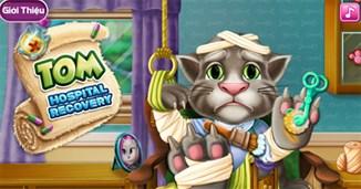 Trị thương cho mèo Tom