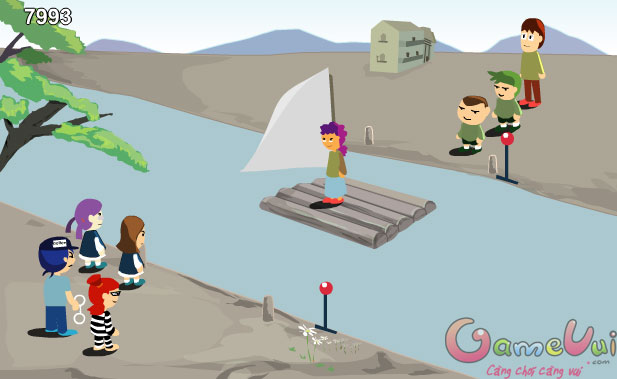 Hình ảnh trong game Qua sông