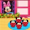 Minnie làm bánh