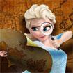 Elsa thoát khỏi mê cung