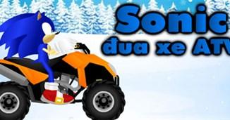 Sonic đua xe ATV