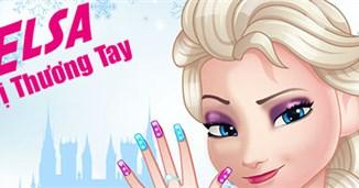 Elsa trị thương tay