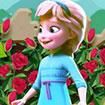 Elsa làm vườn