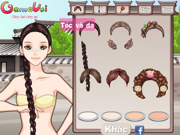 Chọn kiểu tóc cho Cô nàng Hàn Quốc