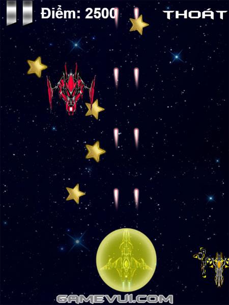 Màn hình chơi game Chiến tranh thiên hà 2