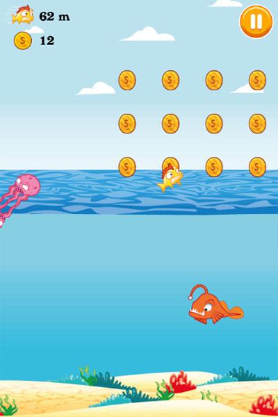 Chơi game Cá vàng phiêu lưu 2