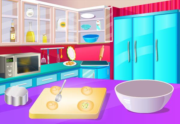 Tạo hình bánh trong Làm bánh trung thu 2