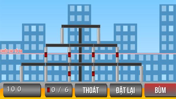 Chơi game Phá dỡ thành phố