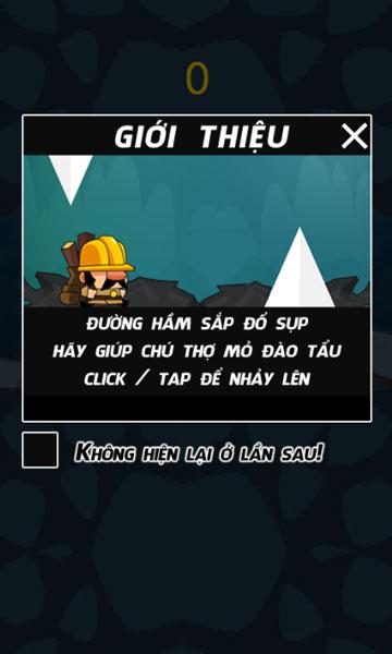 Hướng dẫn game Thợ mỏ đào tẩu