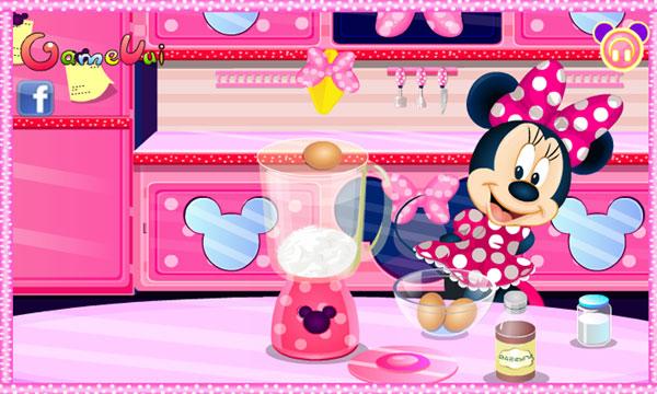 Bắt đầu giúp Minnie làm bánh 2