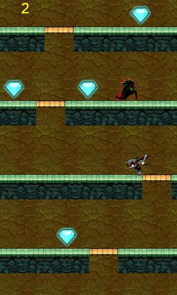 Màn hình chơi game Mật vụ Ninja