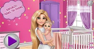 Rapunzel trang trí phòng