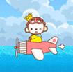 Khỉ lái máy bay