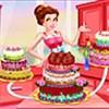 Công chúa trang trí bánh