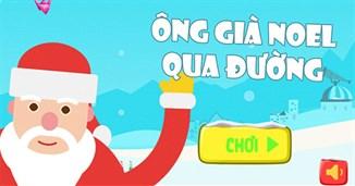 Ông già Noel qua đường