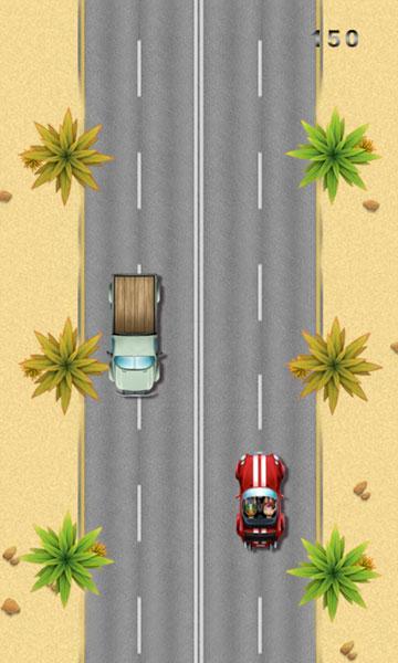 Chơi game Siêu xe ngược chiều 2
