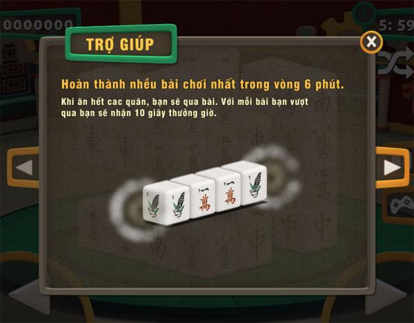 Mục tiêu chơi Mahjong 3D Online