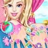 Barbie làm móng tay