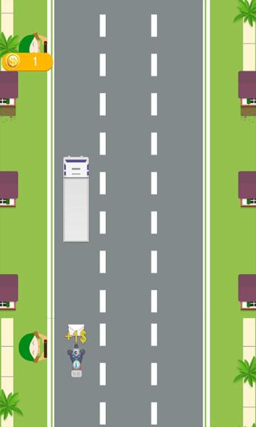Chơi game Lái xe chuyển phát
