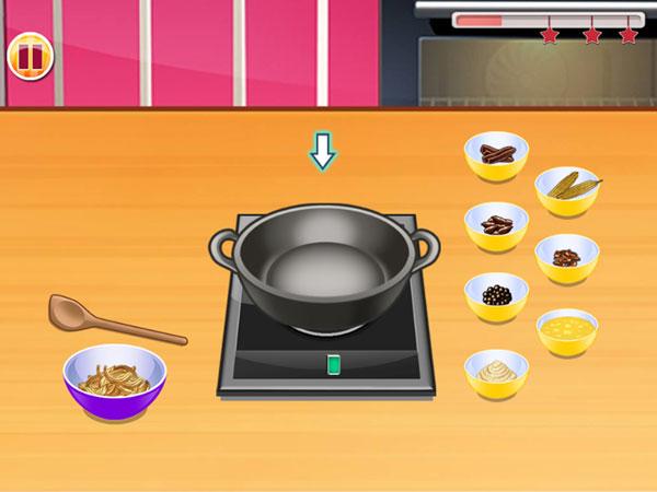 Sơ chế gia vị trong Lớp học nấu ăn 6