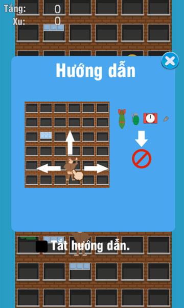 Cách chơi Khỉ đột leo tường