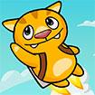 Mèo con bay lượn