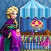 Bà bầu Elsa trang trí phòng