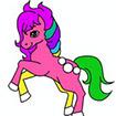 Tô màu ngựa con 3